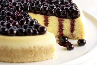 Vanilla Mascarpone Blueberry Cheesecake (driscolls.com)