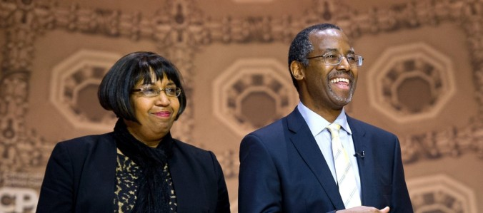 Dr. Ben and Candy Carson (AP)