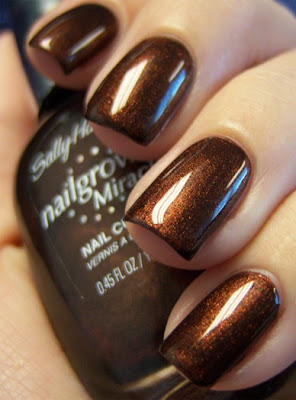 Sally Hansen's Forbidden Fudge! (Chloe's Nails)