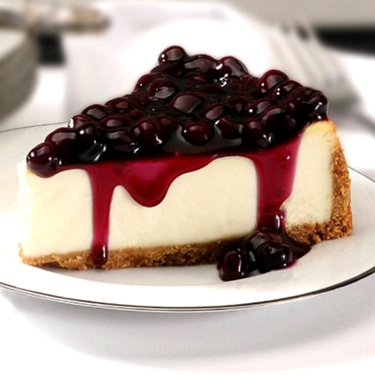 Blueberry Cheesecake (cookdiary.net)