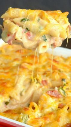 Chicken Bacon Ranch Pasta (Pinterest)