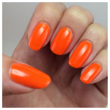 Neon Orange Nail Polish (modelcitypolish.com)