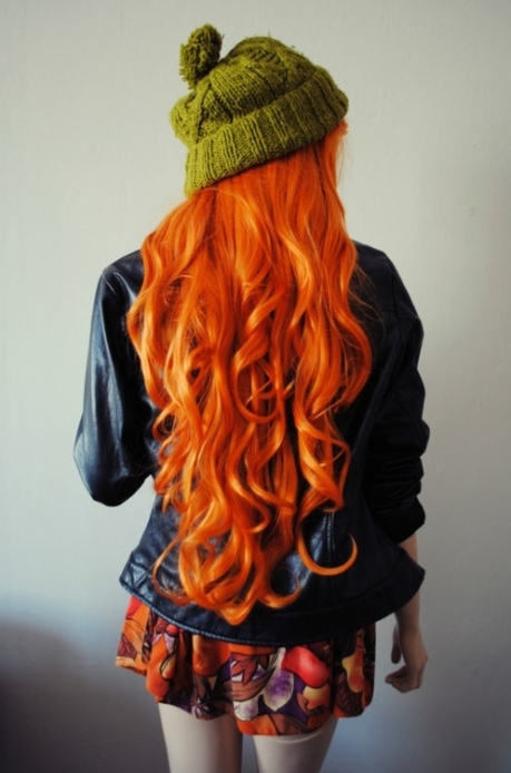 Orange Hair (preraphaelitebeauty.tumblr.com)