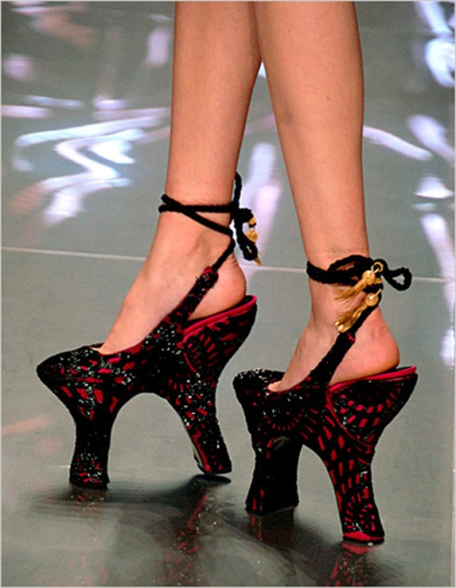 Spring 2008 Double Heel Shoes Alexander McQueen