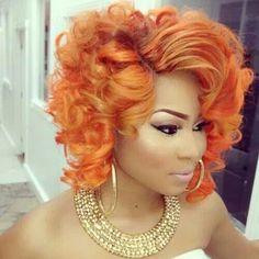 Hair 5 Fierce Orange Hairstyles Photos Womenwithgifts Org