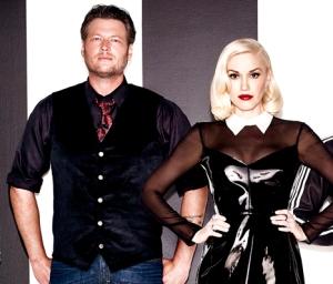 Gwen Stefani and Blake Shelton (US Magazine)