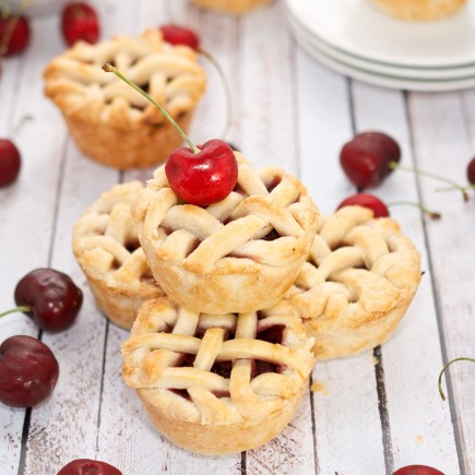 Mini Cherry Pies (Sweet Peas Kitchen)