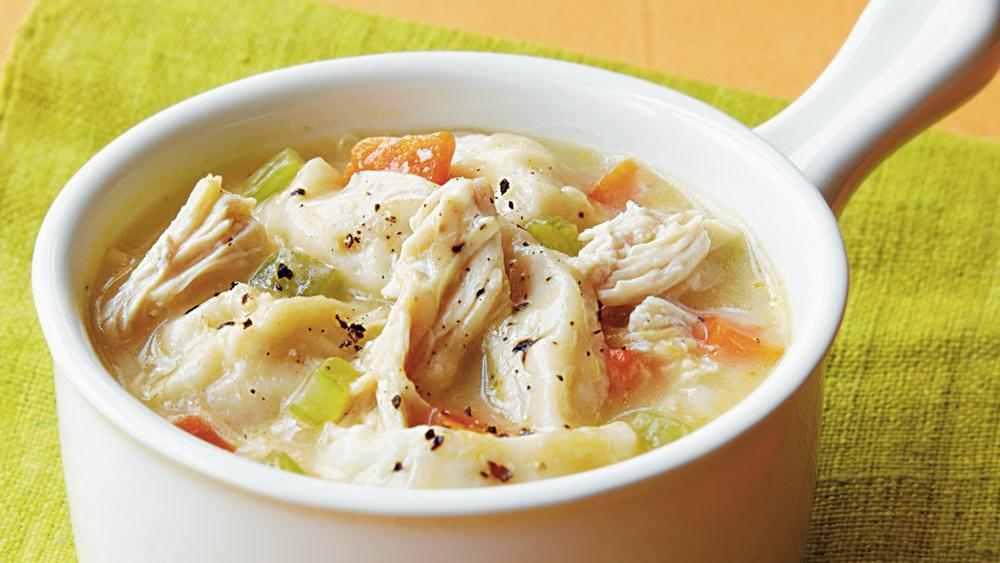 Recipe| German Chicken Soup with Dumplings